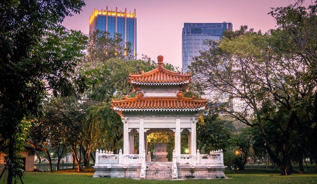 Bangkok Lumphini parc quartier Silom