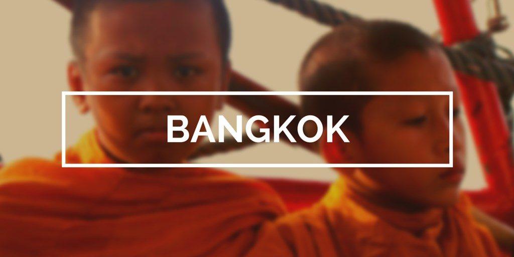 Bangkok blog voyage