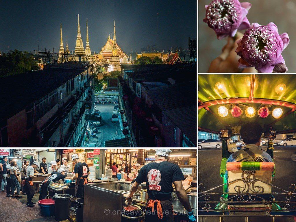 Bangkok food tour de nuit tuk tuk