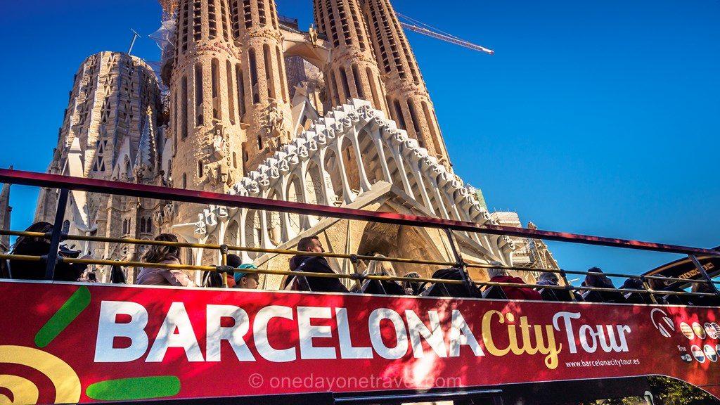 Barcelone se déplacer transports Sagrada Familia bus