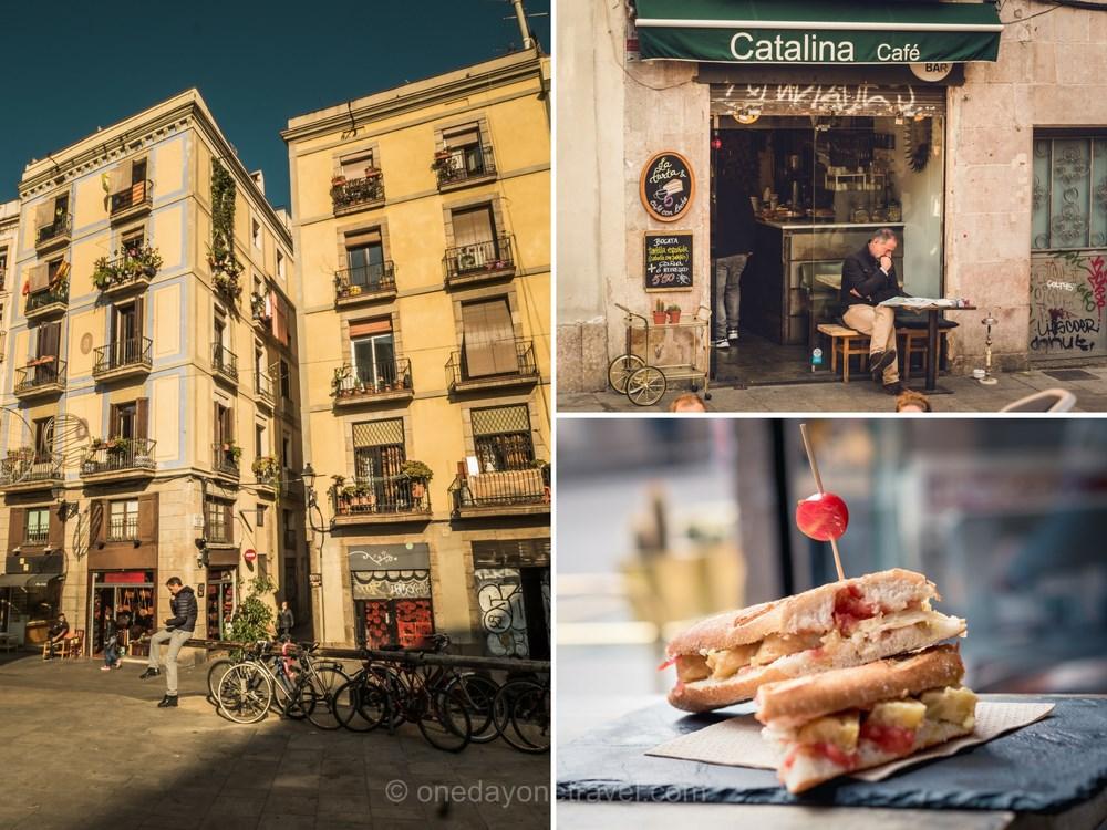 Catalina café quartier el born Barcelone
