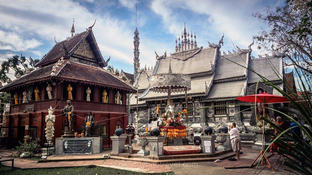 Chiang Mai temple argent itinéraire voyage Thaïlande