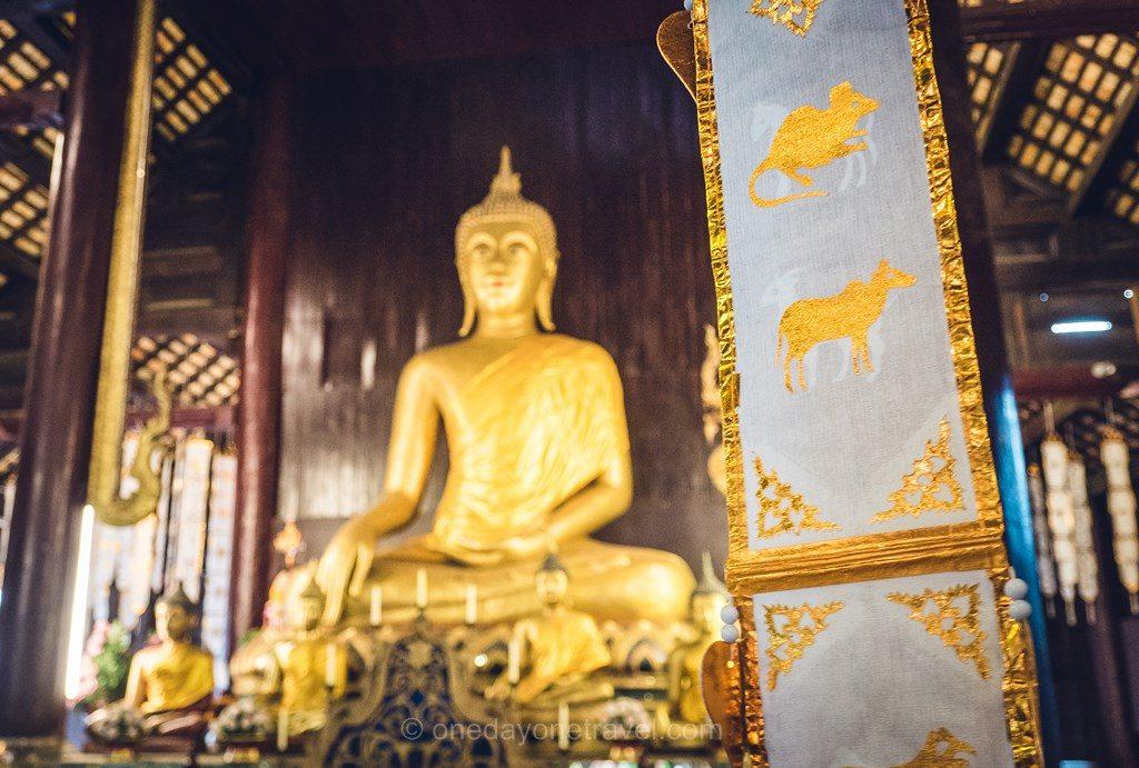Chiang Mai  Wat Phan Tao