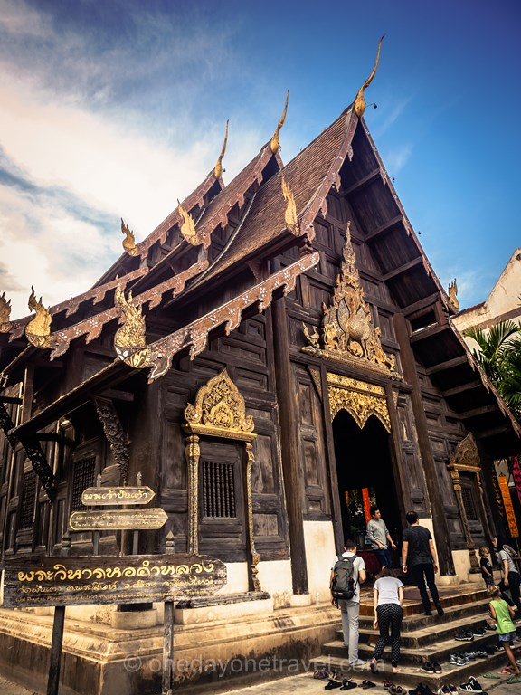 Chiang Mai  Wat Phan Tao Thaïlande