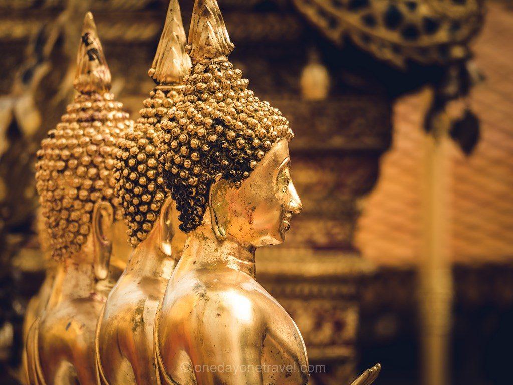 Chiang Mai statue bouddha