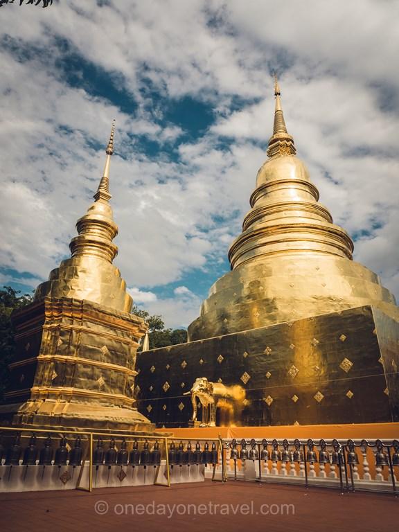 Chiang Mai Chiang Mai Wat Phra Singh Pagode