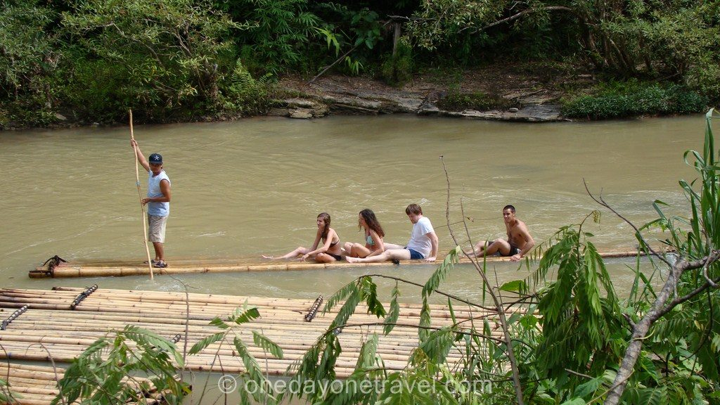 Chiang Mai Trek bambou rafting Thaïlande