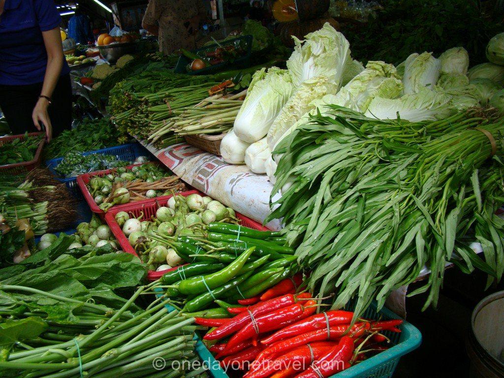 Chiang Mai cours cuisine Thaïlande marché