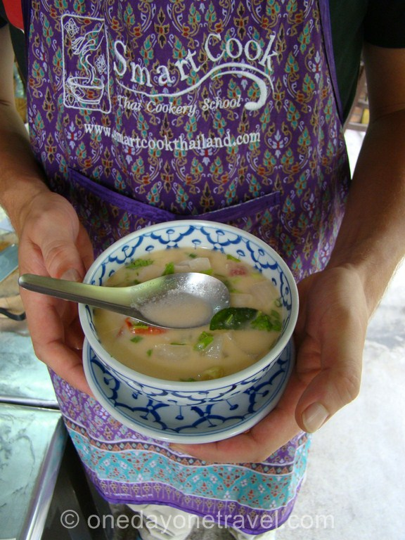Chiang Mai cours cuisine Thaïlande soupe