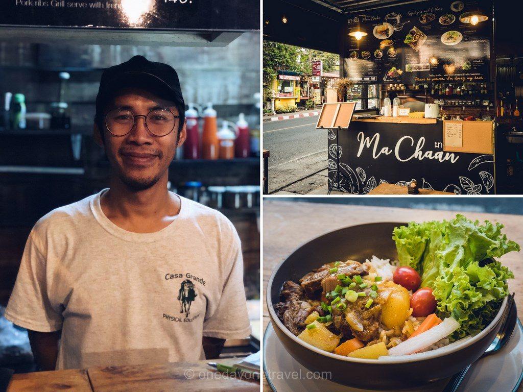 Chiang Mai où manger Ma-Chaan kitchen