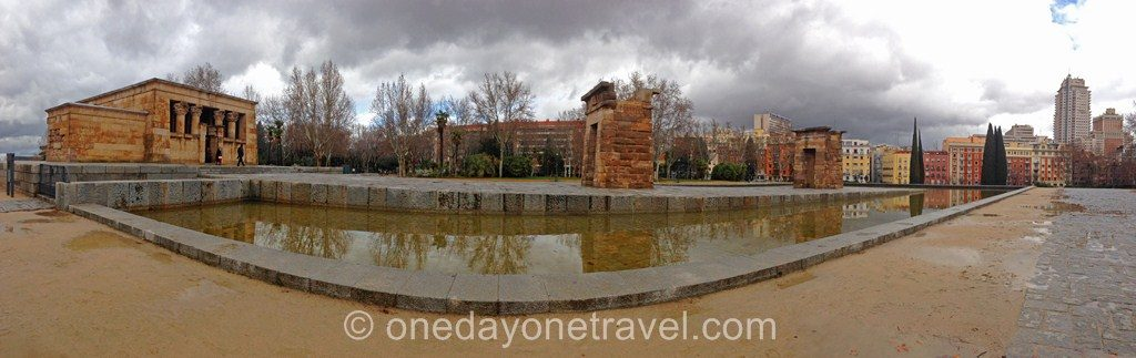 City Guide Madrid Temple Egypte