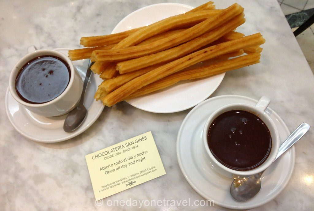 City Guide Madrid churros gines