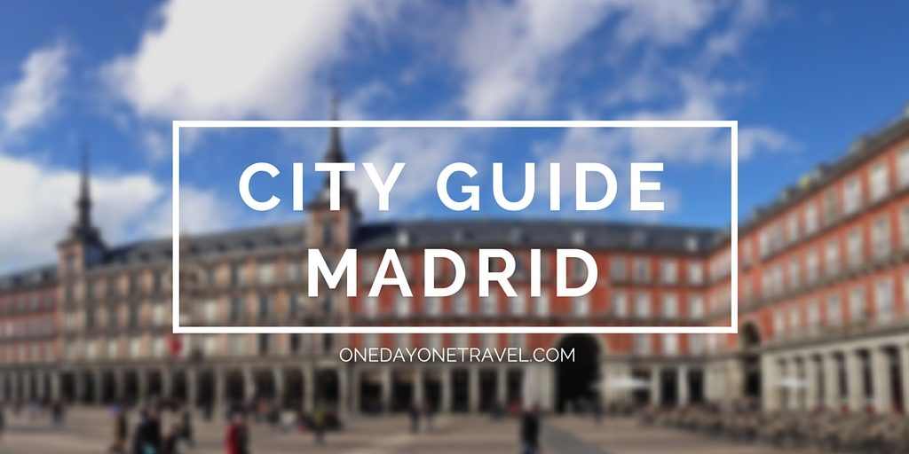 City Guide madrid blog voyage