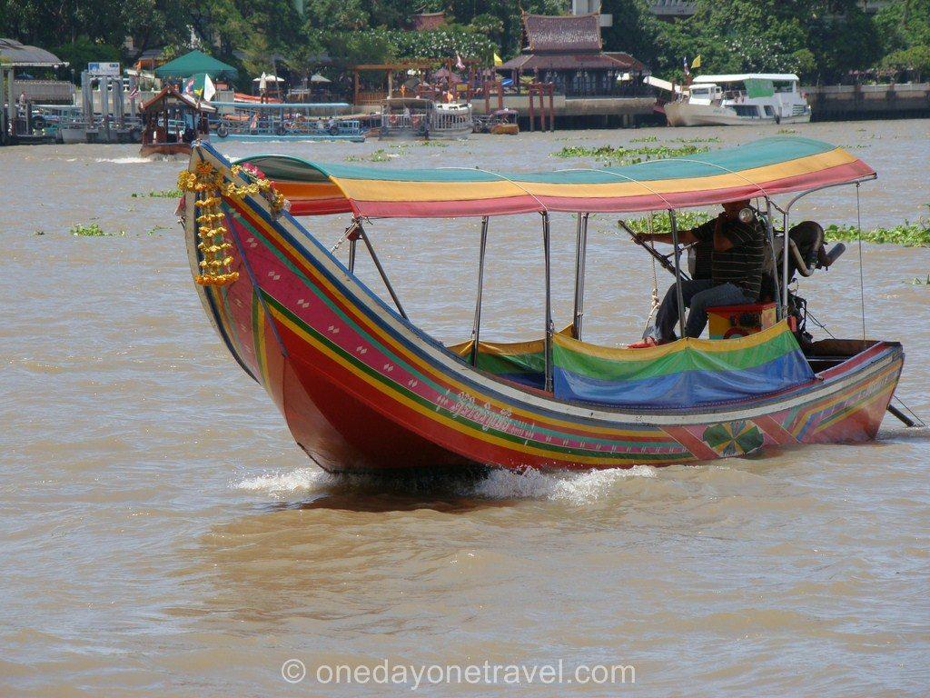 Comment circuler bangkok Transport bateau