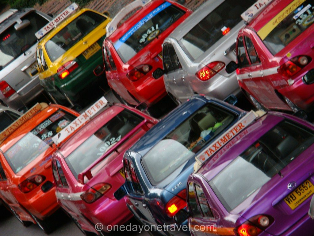 Comment circuler bangkok Transport taxi