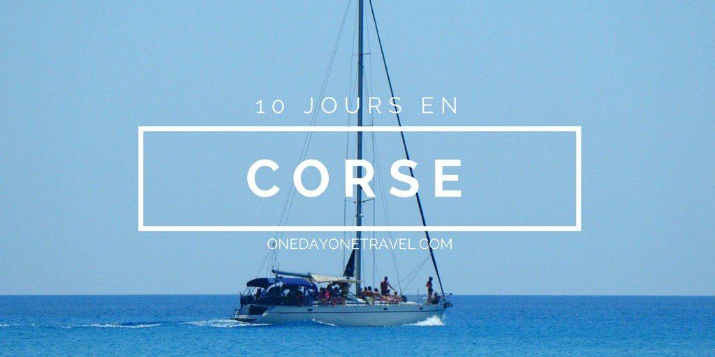 Corse du Sud road trip blog voyage
