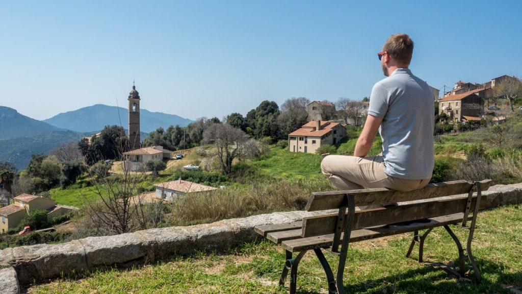 Ajaccio villages du pays Richard