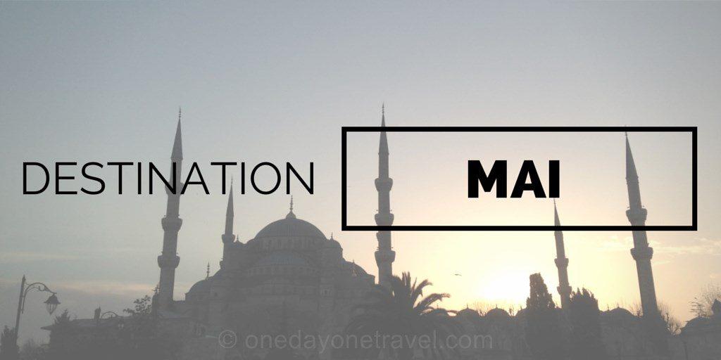 Destinations où voyager en mai