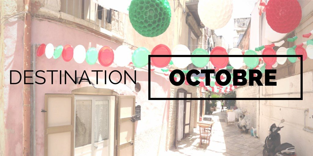 Destinations à visiter en octobre
