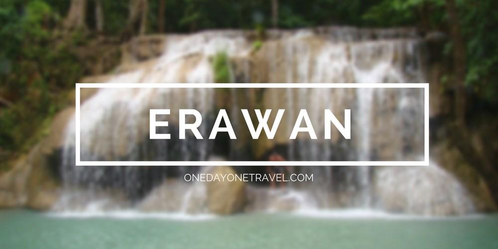 Erawan Kanchanaburi Thaïlande Blog Voyage OneDayOneTravel vignette