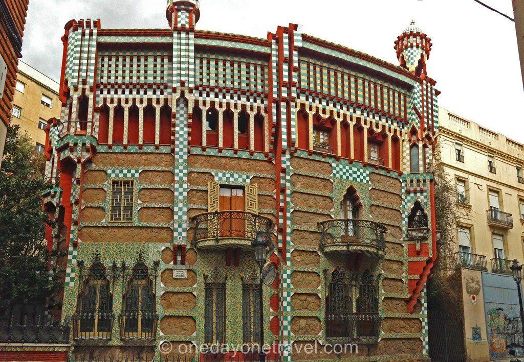 Gracia Barcelone façade01