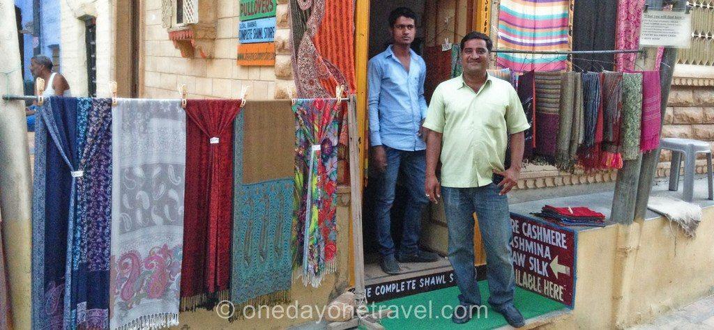 Jaisalmer marchand foulard