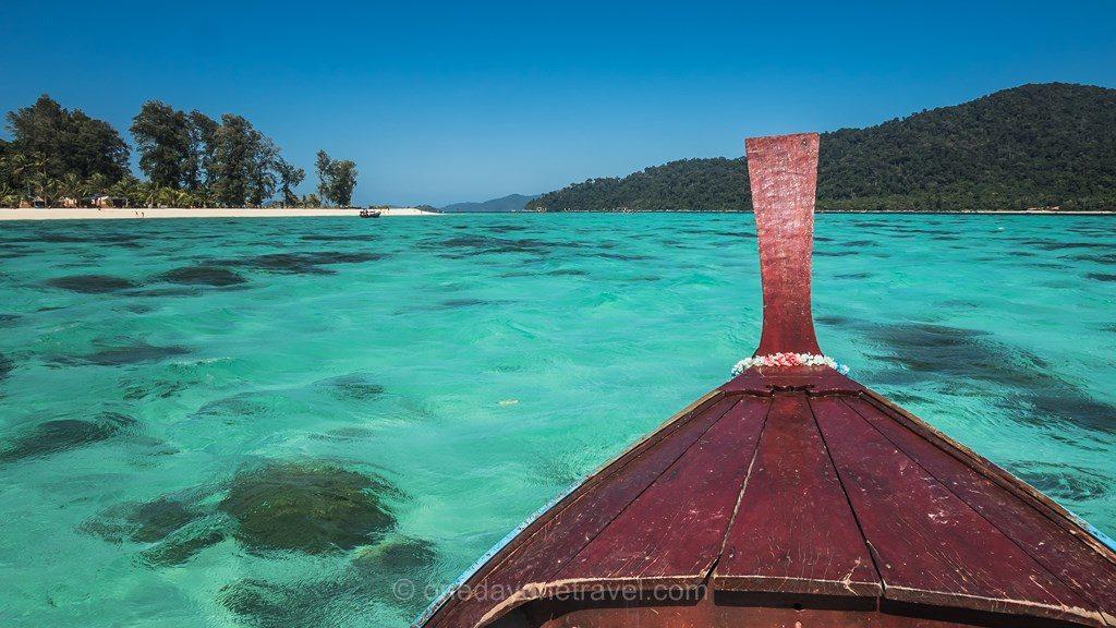 Koh Lipe bateau long tail ile