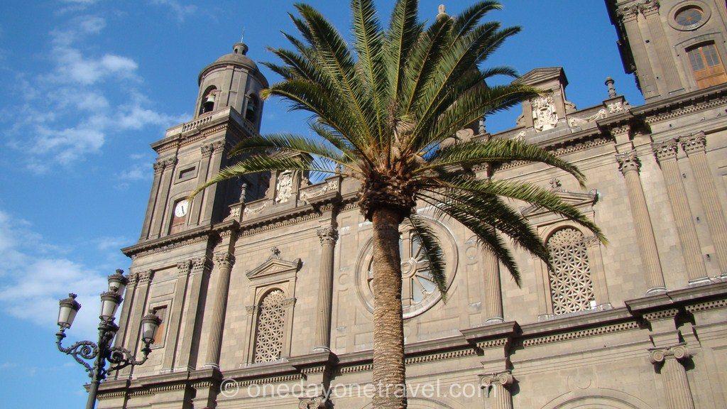 Las Palmas de Gran Canaria palmier église