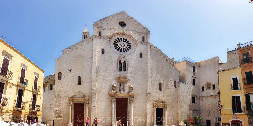 Les Pouilles Bari eglise vieux centre