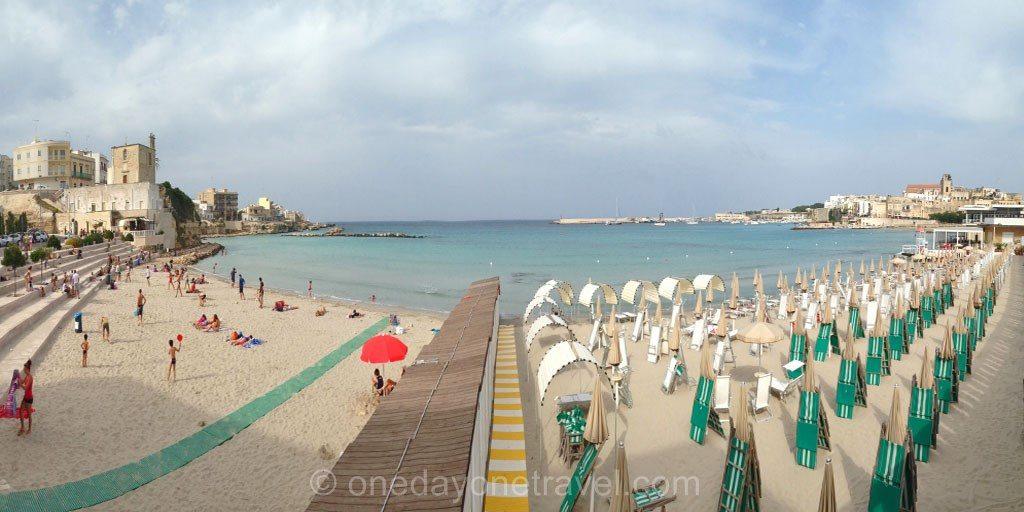 Les Pouilles Otranto Plage centre