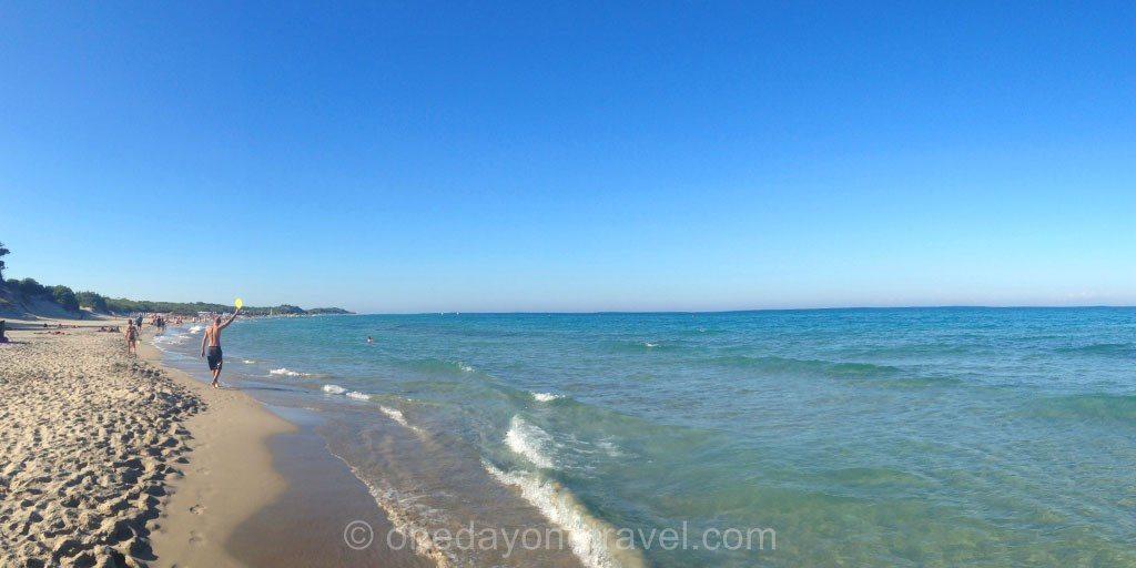 Les Pouilles Otranto plage alimini