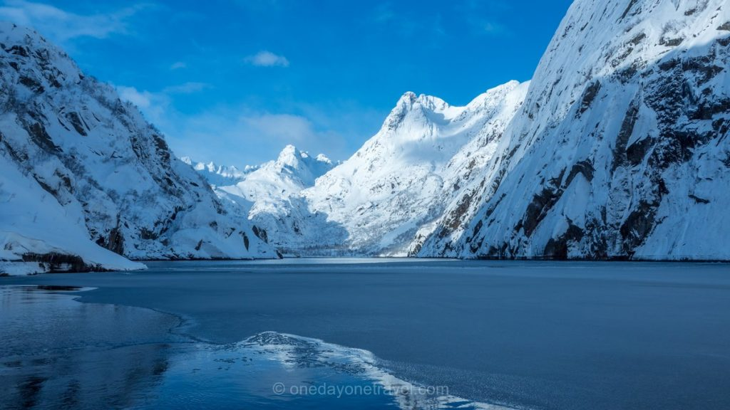 Norvège du Nord fjord Lofoten