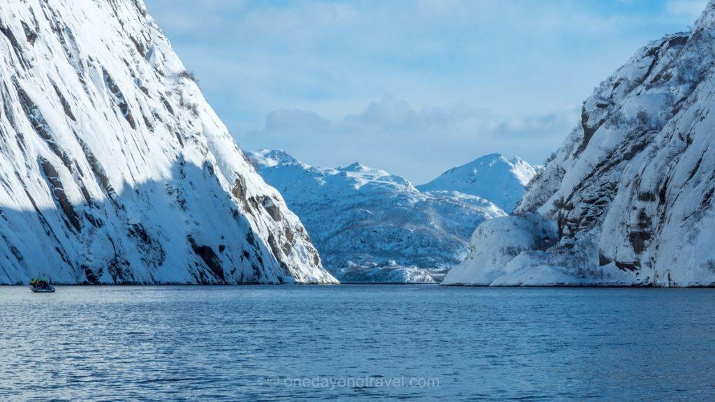 Norvège du Nord fjord des trolls
