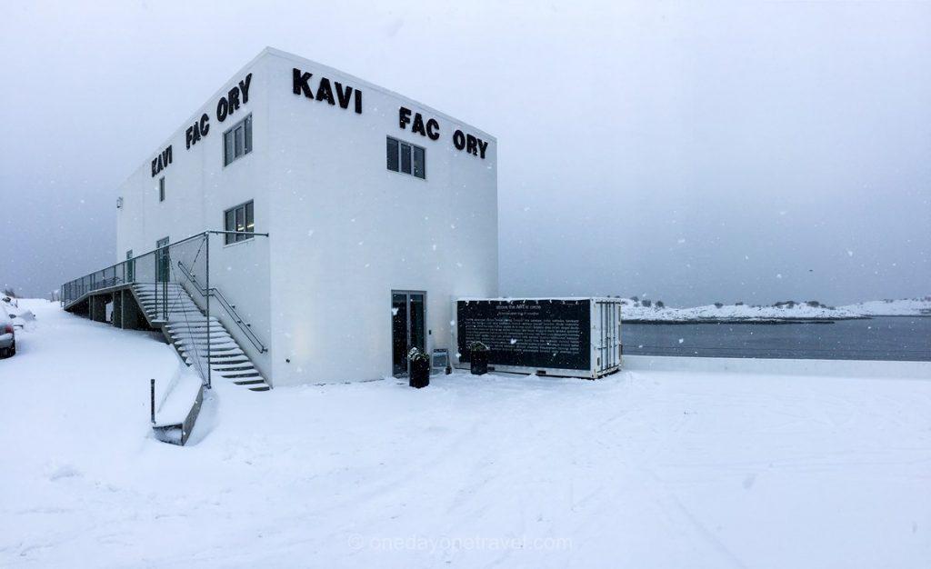 Norvège du Nord Henningsvær Kaviar Factory