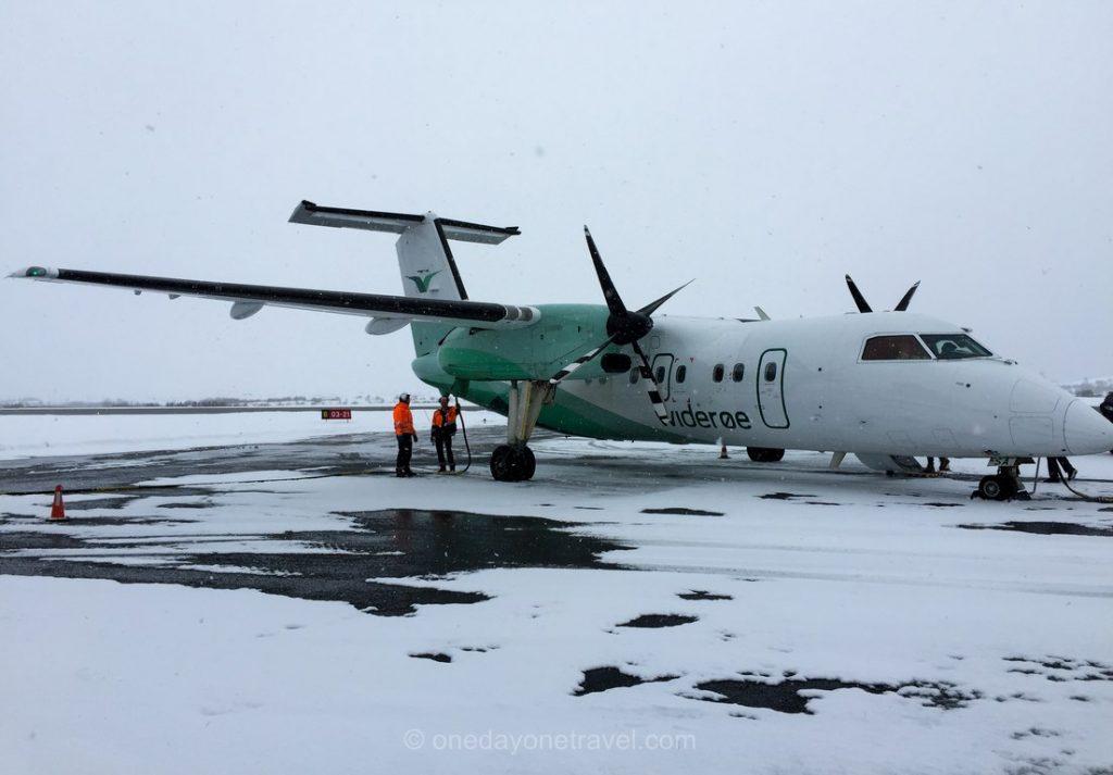 Norvège du Nord avion