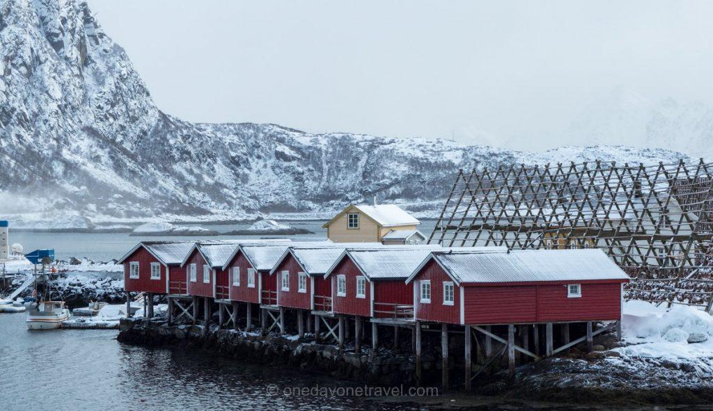 Lofoten Norvège du Nord rorbur