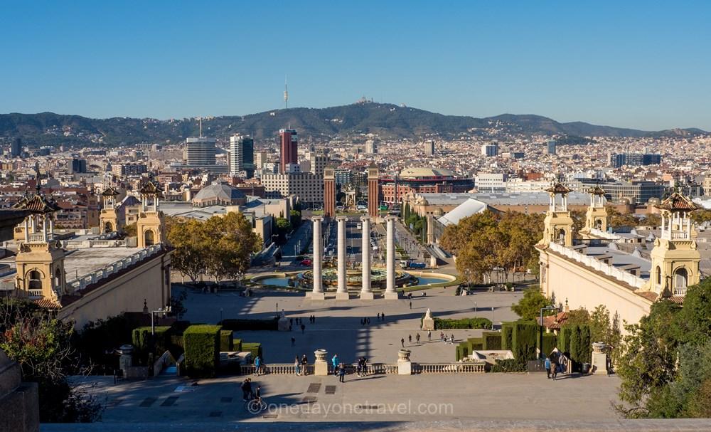 Montjuic Barcelone blog de voyage