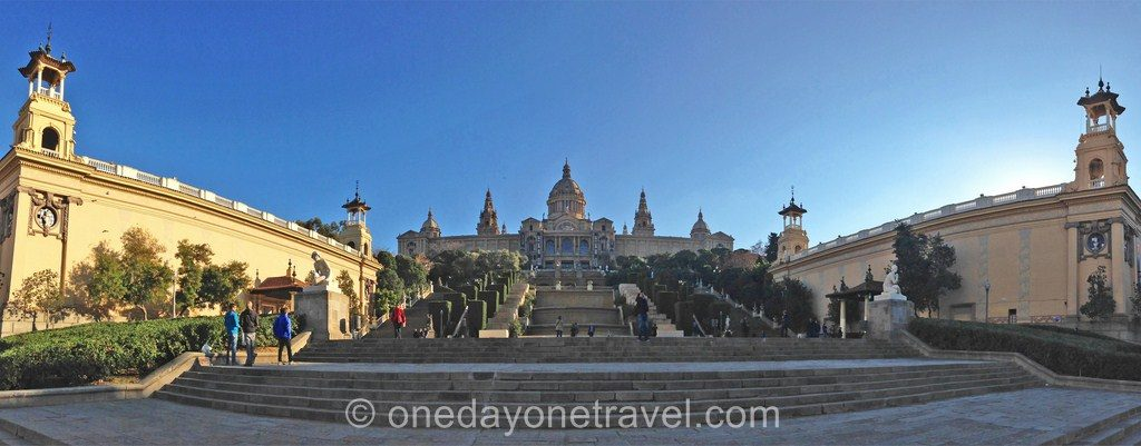 Montjuic barcelone blog voyage colline
