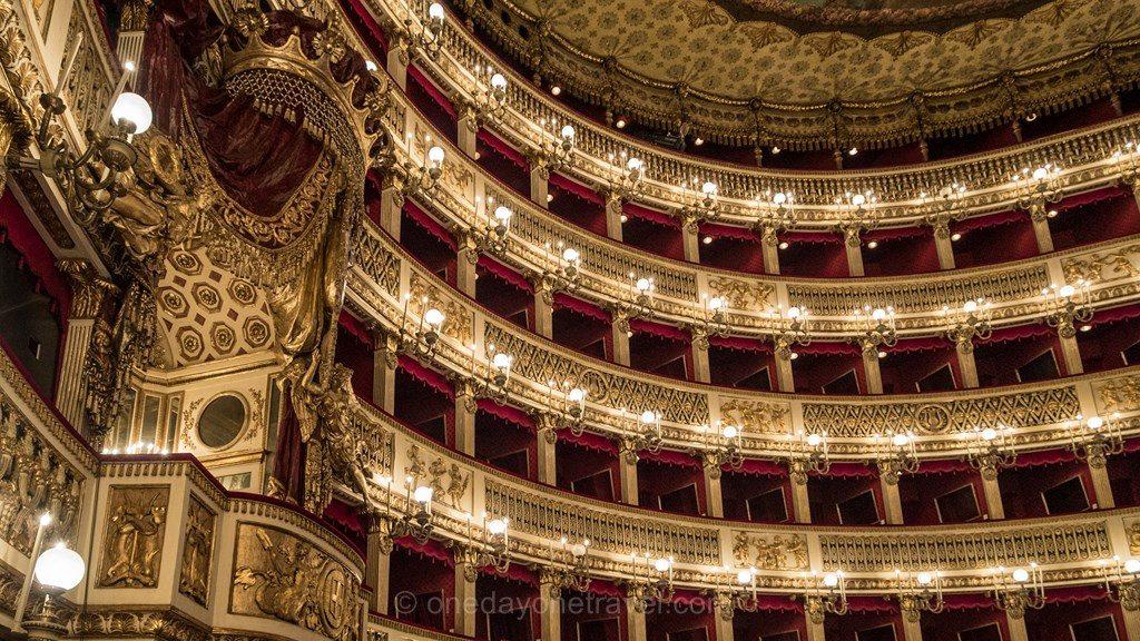 Naples théâtre San Carlo