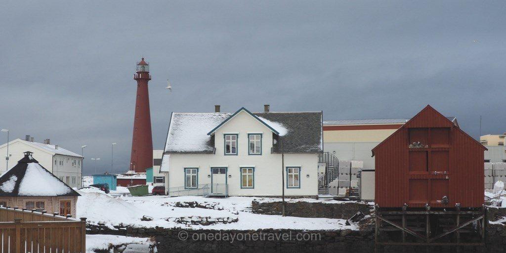 Norvège du nord phare Andenes Vesteralen