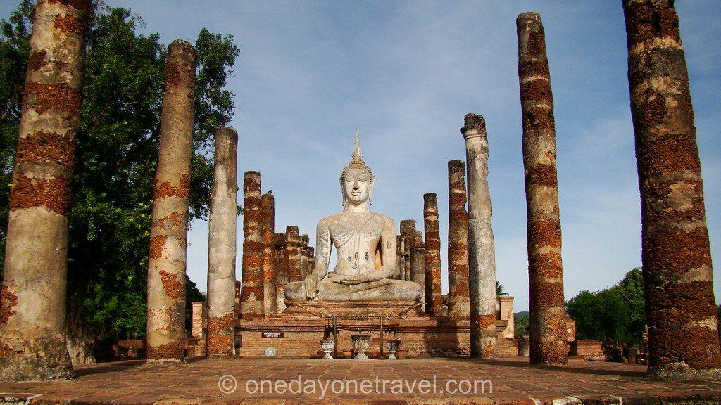 Old Sukhothai Thaïlande blog voyage OneDayOneTravel