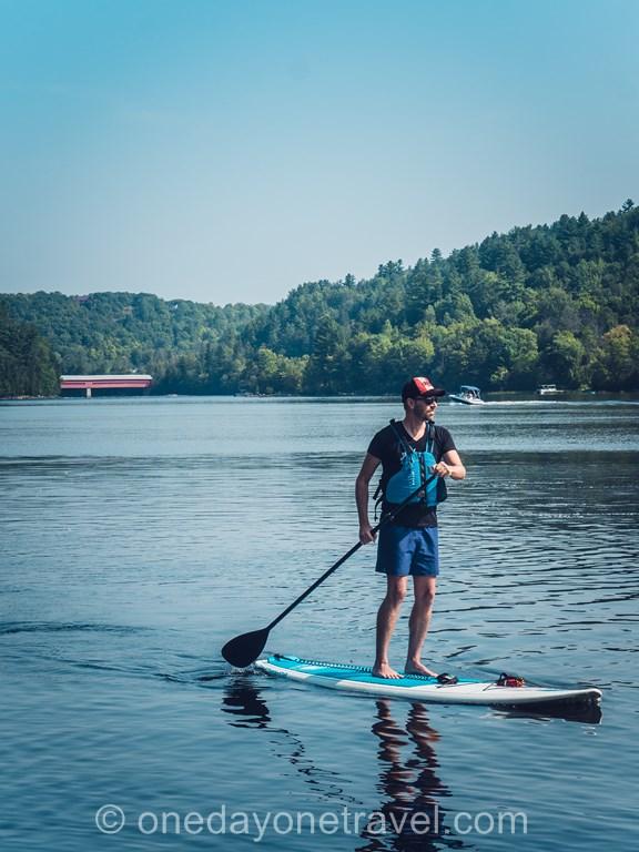 Outaouais paddle rivière Gatineau