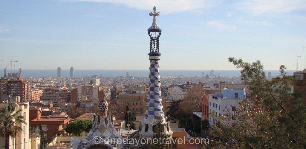 Parc Guell Barcelone visite vue