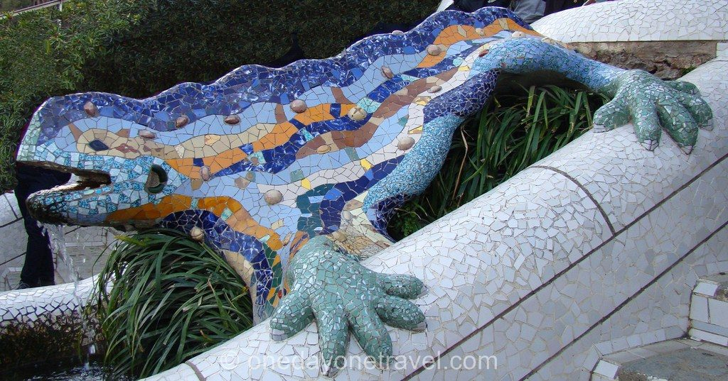 Parc Guell Barcelone visite blog voyage 07