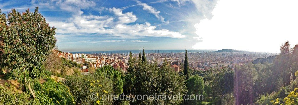 Parc Guell Barcelone visite blog voyage 14
