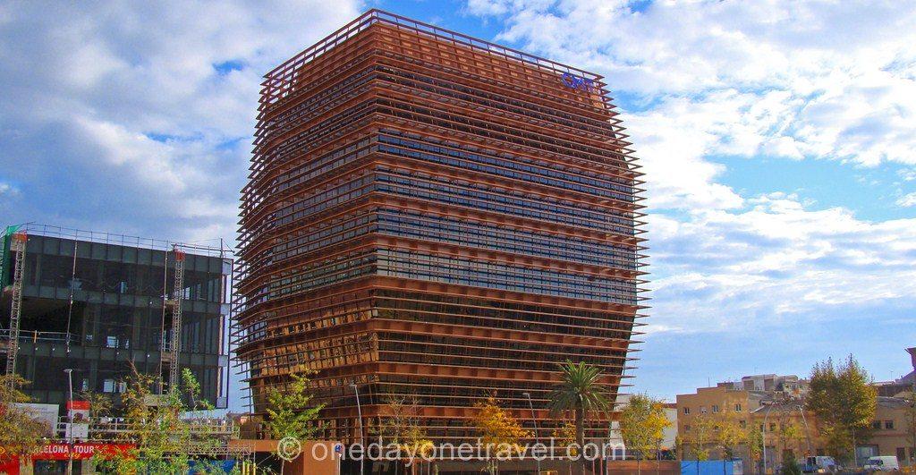 Poblenou Barcelone Architecture Architecture insolite