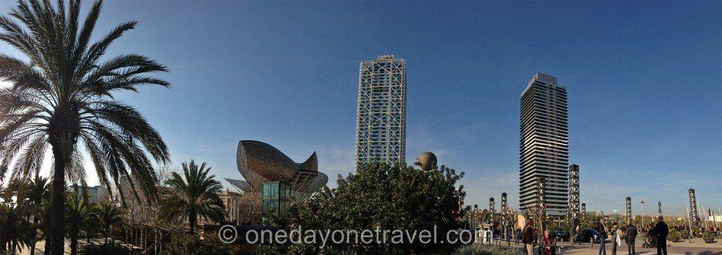 Port Olympique Barcelone tour baleine