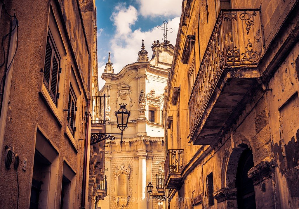 Pouilles Lecce architecture italie sud
