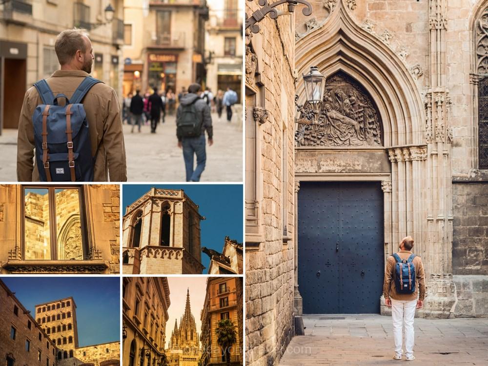Quartier gothique Barcelone blog voyages