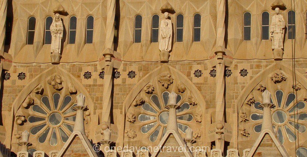 Sagrada Familia Barcelone Architecture